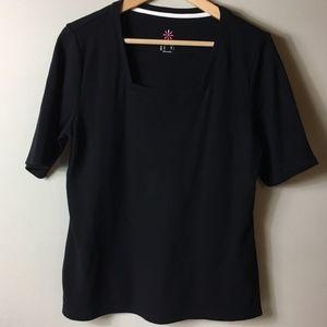 Isaac Mizrahi Live Women's Short Sleeve Tee Shirt